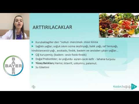 Endometriozis'de Beslenme - Dr. Pınar Yalçın Bahat
