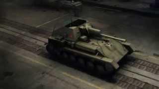 СУ-76М, Советская пт-сау, игра World of Tanks