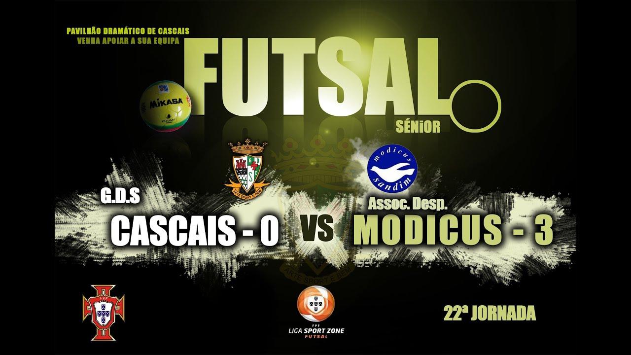 a8c5ab0f382d6 Resumo Liga Sport Zone 22ª Jorn Cascais 0 - 3 Modicus - YouTube