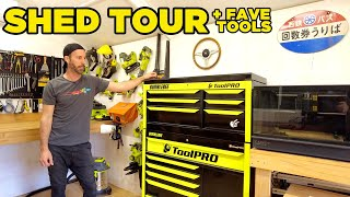 homepage tile video photo for Moog's Shed Tour (And TOP 3 Tools)