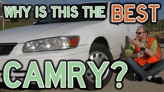 [2001 Toyota Camry Review] Regular Car? Pffffft... You mean, AWESOME CAR!