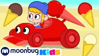 My Magic Pet Morphle - The Icecream Racecar! | Full Episodes | Funny Cartoons for Kids | Moonbug TV