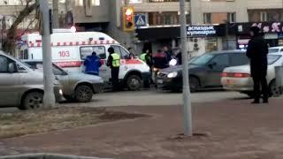 Авария на перекрестке улиц Касыма Кайсенова и Казахстан