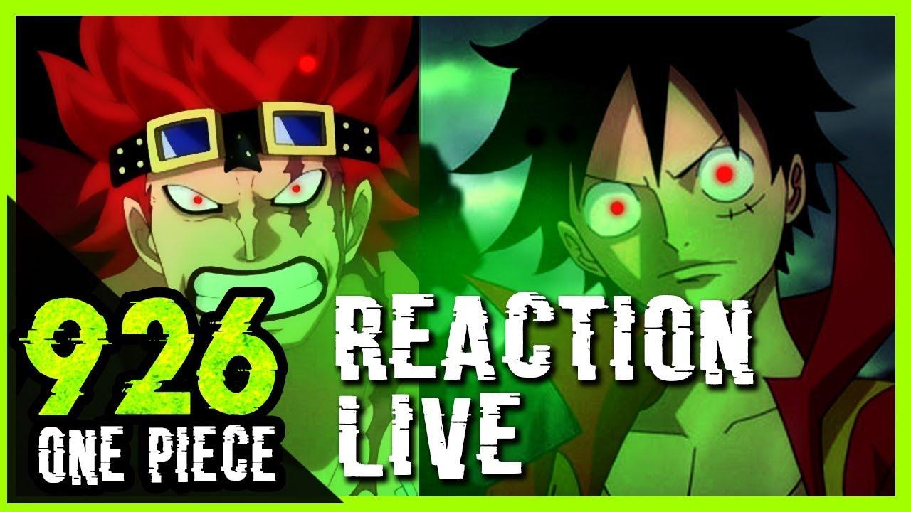 LUFFY - KID PLUS FORT QUE LE GRANIT  - Reaction live one piece 926