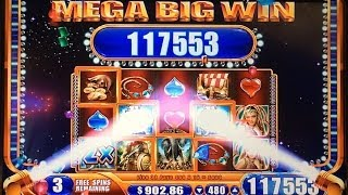 JACKPOT HANDPAY! Alexander the Great Slot Machine Bonus MEGA BIG WIN Max Bet