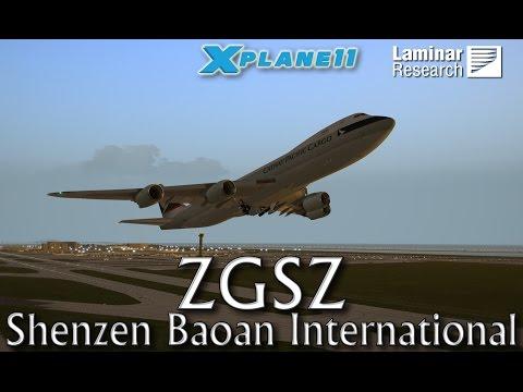 Laminar Research ZGSZ Shenzen Baoan International for X-plane 11