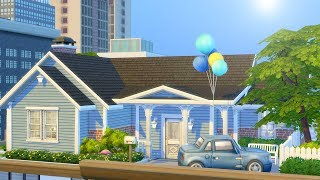 HOUSE IN THE SKY // The Sims 4: Speed Build