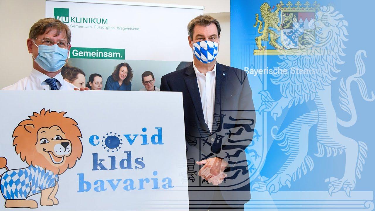 """Pressekonferenz zur Vorstellung der Studie """"COVID Kids Bavaria"""" - Bayern"""