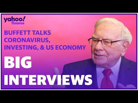 Warren Buffett, Berkshire Hathaway Chairman And CEO, Talks Coronavirus And The U.S. Economy