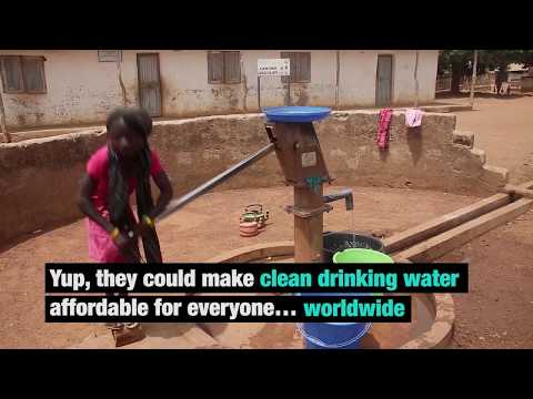 New water filter technology aims for clean water worldwide