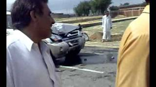 Mian Nisar Gul Kaka Khail Road Accident at Sabirabad Karak