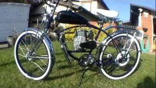 Custom Old School Motorized Schwinn Bicycle