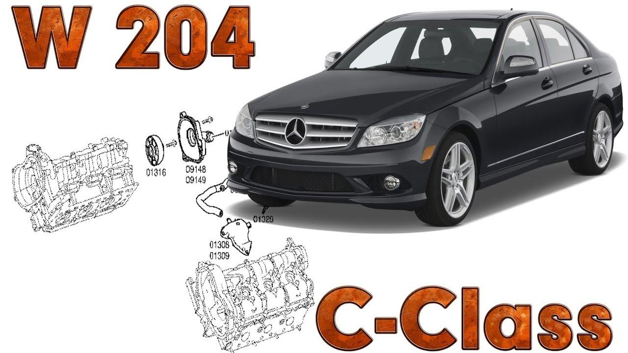 C-Class (W204) | Fault locations | Crankcase ventilation system
