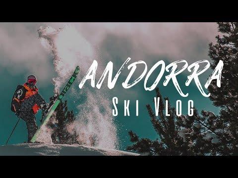 Andorra 2018 Ski Vlog