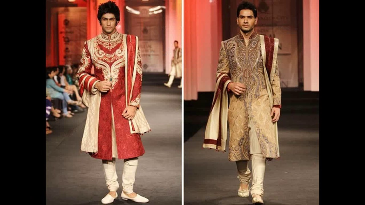 Indian groom wedding dress collection - YouTube