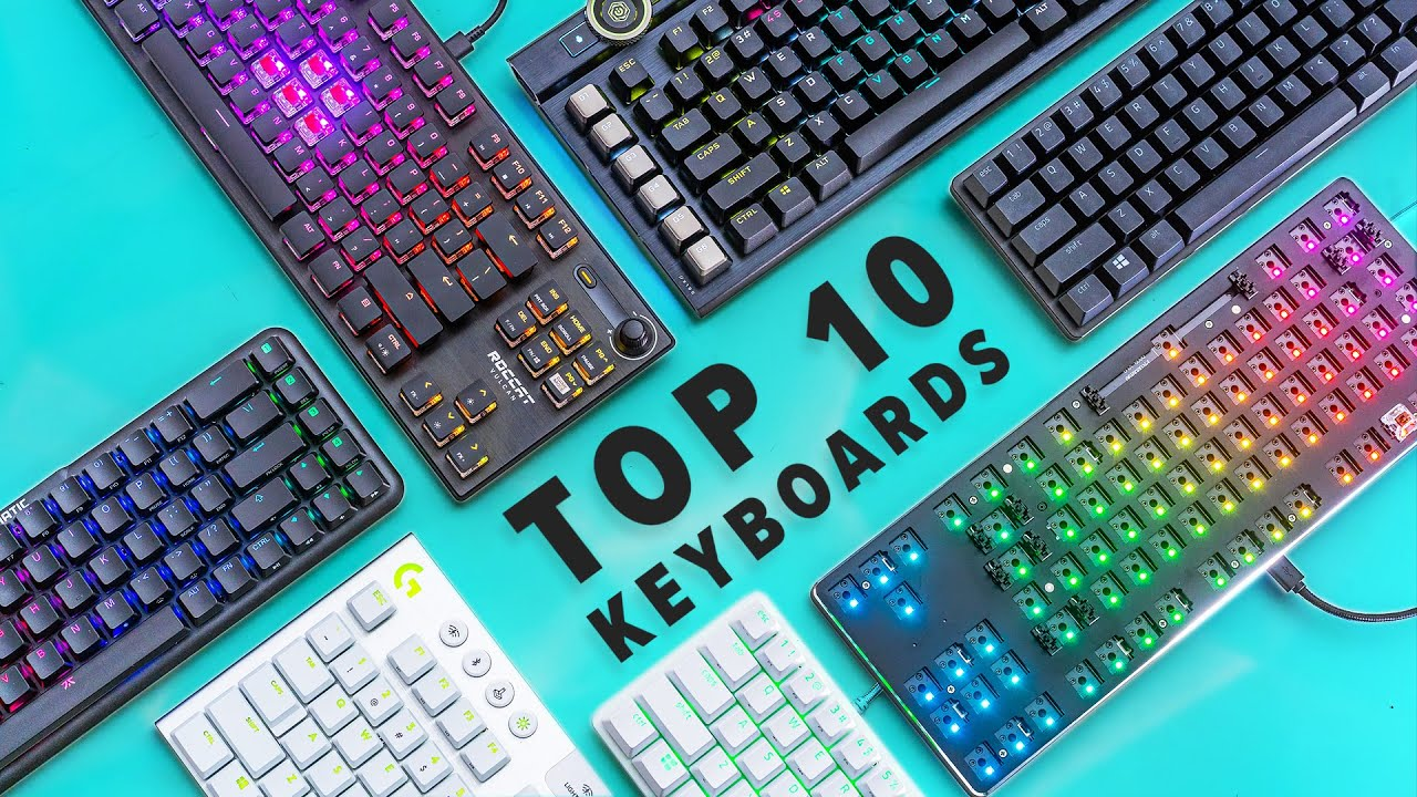 Top 10 Best Gaming Keyboards Of 2020 Youtube