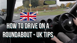 How to drive on roundabouts - UK Driving Tips