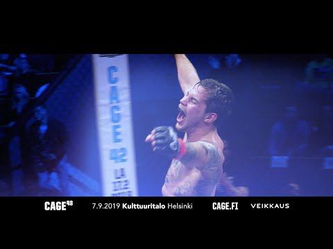 CAGE 48 MMA in Helsinki 7.9.2019