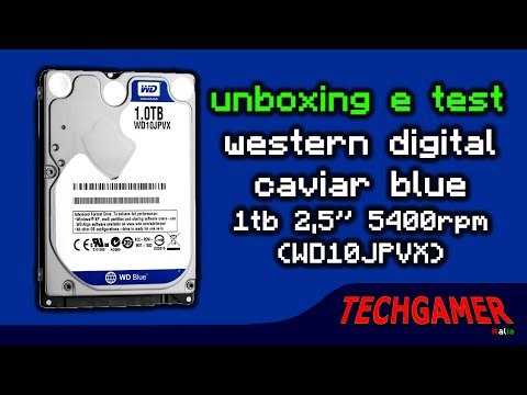 Western Digital Caviar Blue WD10JPVX : Unboxing &Test  • Techgamer