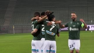 ASSE 2-1 Strasbourg: les buts au plus près du terrain