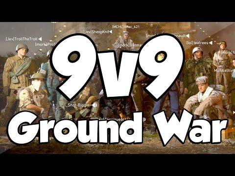 GROUND WAR! (Call of Duty WW2 9v9)