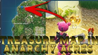 TREASURE MAP in ANARCHY ACRES [SOLUTION] | Fortnite Battle Royale Week 5 Challenges