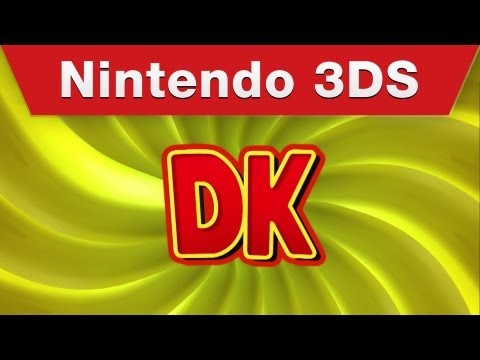 Nintendo 3DS - Donkey Kong Country Returns 3D Trailer