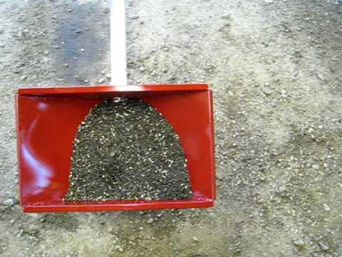 Homemade mini grain auger