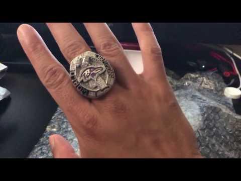 2012 Baltimore Ravens Super Bowl XLVII ring review