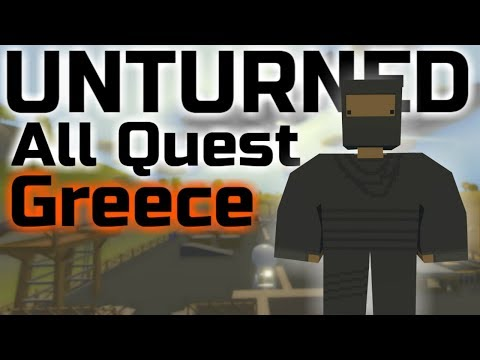 Greece How to Complete ALL QUESTS (Military & Omega)