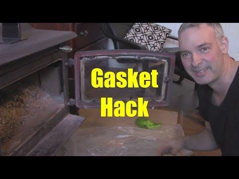 Quick and Easy Woodstove Door Gasket Replacement