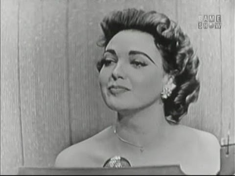 What's My Line? - Ford Frick; Linda Darnell; Garry Moore [panel] (Mar 25, 1956)