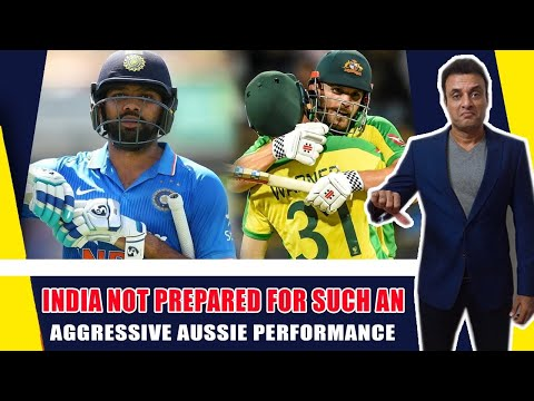 India not prepared for such an aggressive Aussie performance