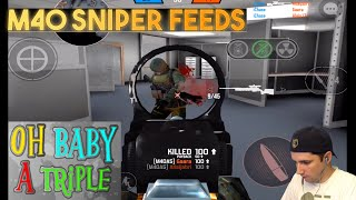 Bullet Force - M40A5 Sniper Gameplay - Triples