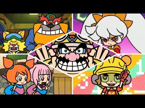 WarioWare Gold - All Bosses!
