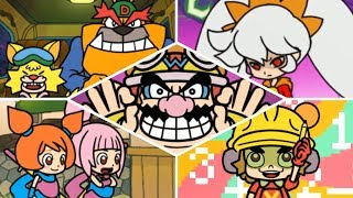 WarioWare Gold - All Bosses!
