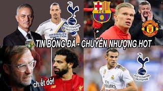 💥Tin bóng đá 22/11|Barca tranh Haaland vs MU,Mourinho cân nhắc tái ngộ Ibra,Liver nguy cơ mất Salah