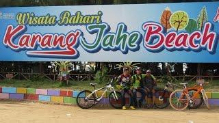 Gowes menuju Pantai Karang Jahe - Rembang