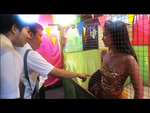 Inside a Thai Freak Show Tent & Traditional Carnival