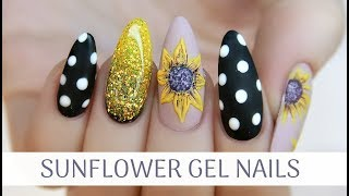 TUTORIAL + WE NEED TO TALK... | SUNFLOWER GEL NAILS