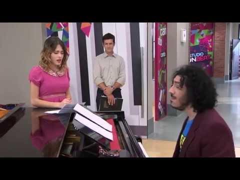 Violetta non può cantare più quando vede a Lèon
