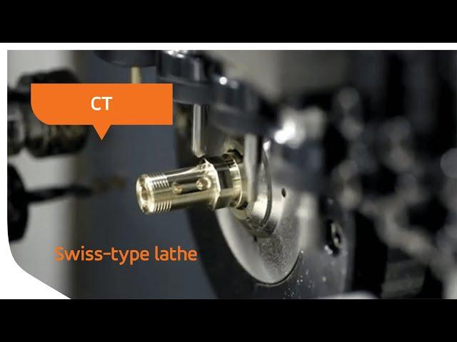 CT 20 - Swiss-type lathe