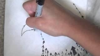 Upward Shift (Speed-drawing)