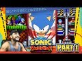 Sonic Mania - Part 1 Green Hill Zone, Chemical Plant, & GIVEAWAY (PC, Switch, PS4, Xbox One)