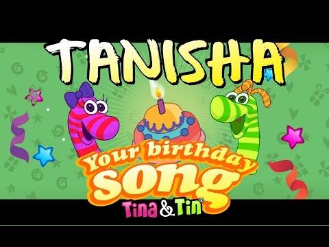 Tina&Tin Happy Birthday TANISHA