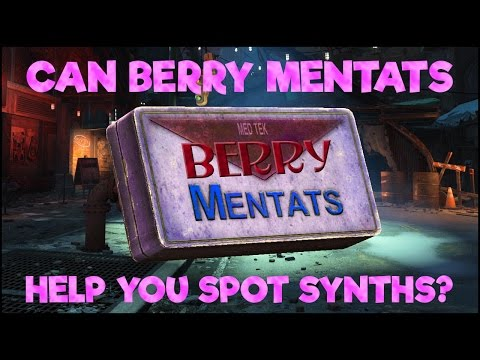 FALLOUT 4: Can You Spot Synths with Berry Mentats?