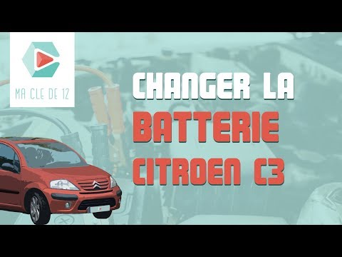 [ TUTO CITROËN C3 ESSENCE ] Changer la batterie