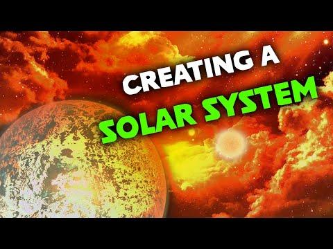 Realistically Creating a Solar System in Universe Sandbox |
