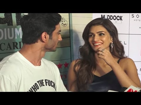 Thumbnail: Kriti Sanon asks for money from Sushant Singh Rajput for praising him!