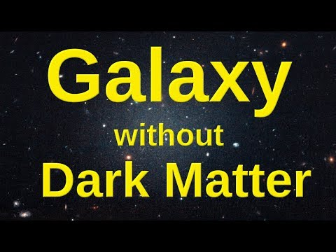 Hubble finds a Galaxy lacking Dark Matter